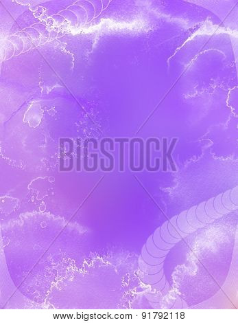 Lilac and white abstract background