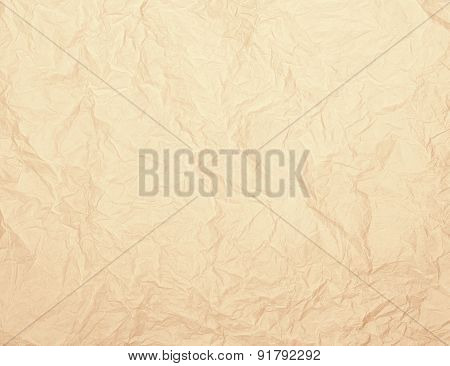 Vintage Rumpled Paper Texture