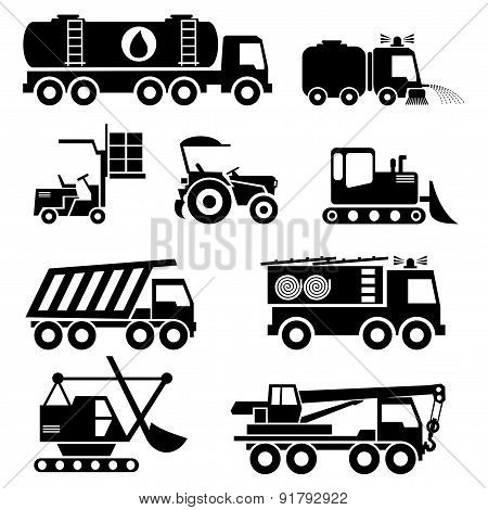 Special Vehicles Icons