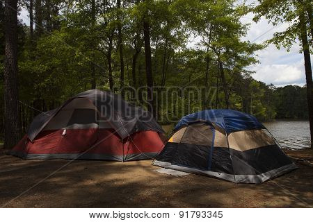 Pair Of Tents