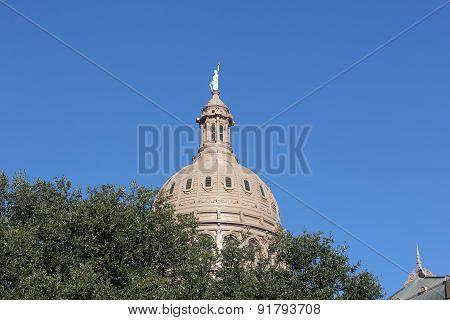 Dome on Capital of Texas