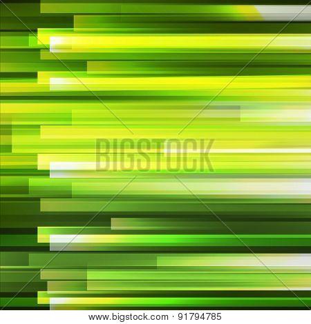 Green Lighting Horisontal Lines