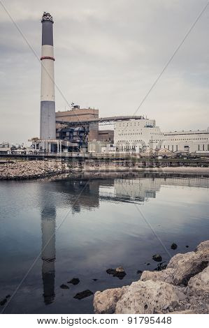 Reading power station, Tel Aviv, Israel