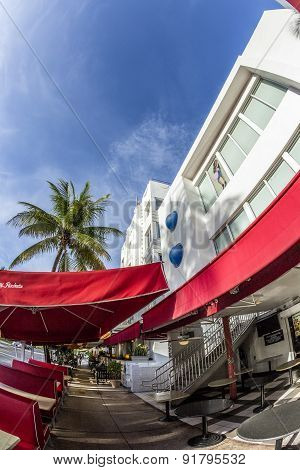 Johnny Rockets Restaurant At Ocean Drive 728 In Miami,
