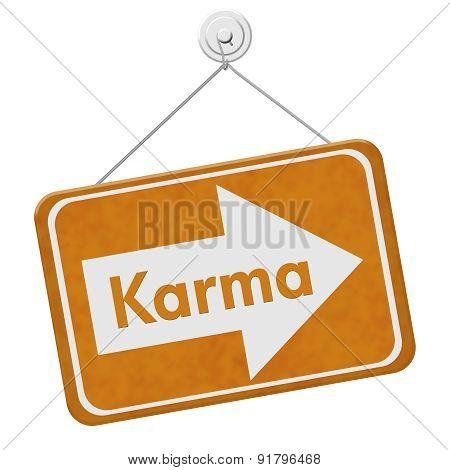 Karma Sign