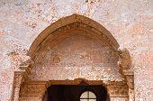 foto of pilaster  - Castel del Monte of Andria - JPG