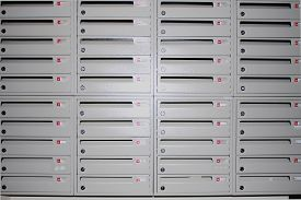 foto of mailbox  - a lot of Mailboxes in the building - JPG