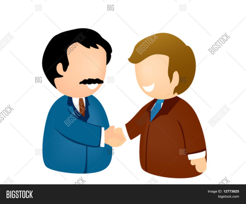商务握手图标-矢量 库存矢量图和库存照片 | bigstock图片