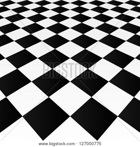 Abstract checkered background, vector art illustration tiles.