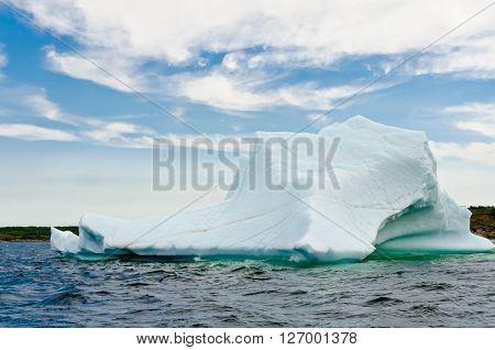 Bright White Iceberg