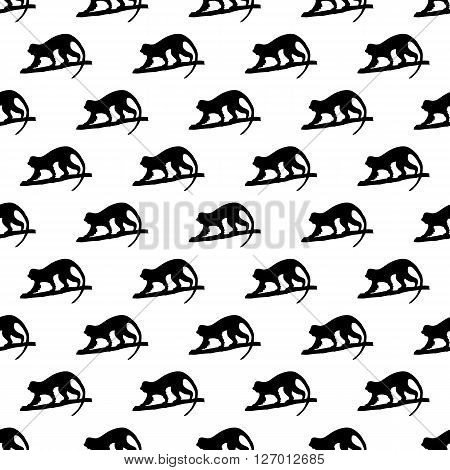Monkey pattern seamless best for any design