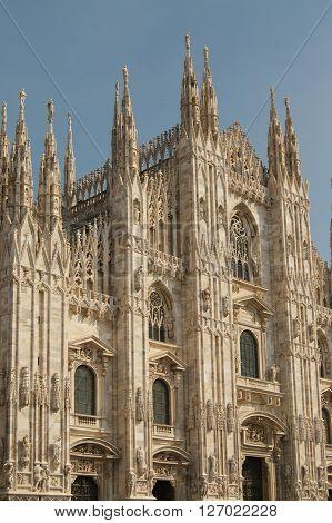 Duomo Di Milano, Milan Gothic Cathedral Church