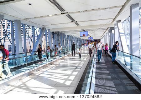Automatic Stairs In Dubai Metro