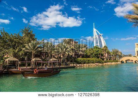 Burj Al Arab And Madinat Jumeirah