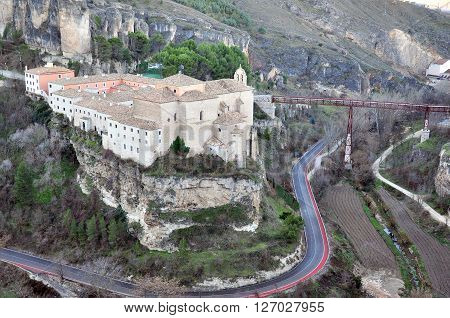 View of Cuenca historical town in Spain