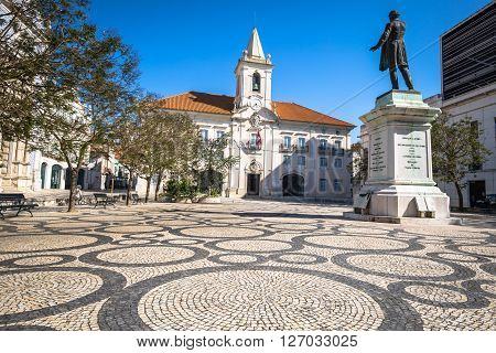 Aveiro , Portugal - 22 May2015: Common Hall (Camara Municipal de Aveiro) in Aveiro north Portugal