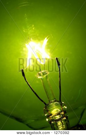 Brilho da lâmpada