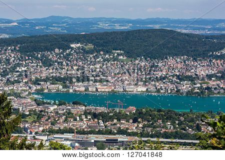 Zurich And The Bay Area, Switzerland
