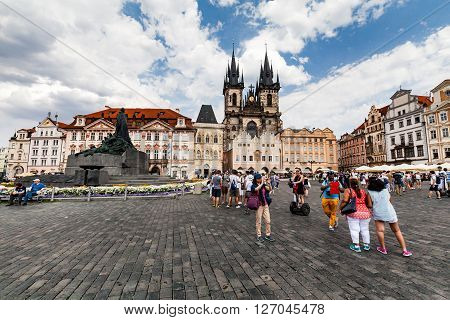 The Church Of Mother Of God In Front Of Tyn In Prague