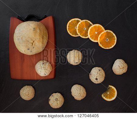 Baking Orange Chocolate Chips