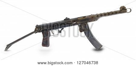 Russia in  Second World War. Mashine gun .