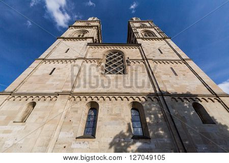 Exterior Views Of Various Houses And Churches In Zurich