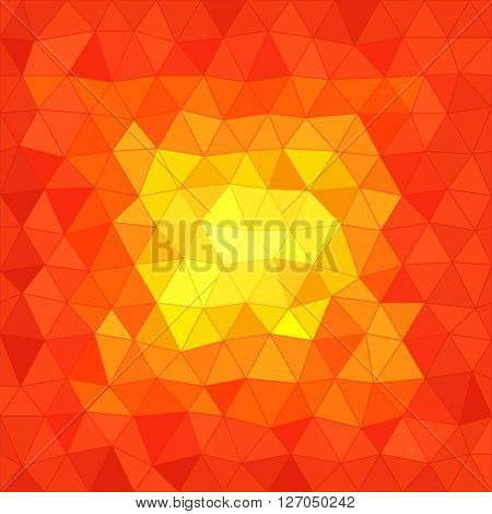 Abstract background of different color figures. Template for a text