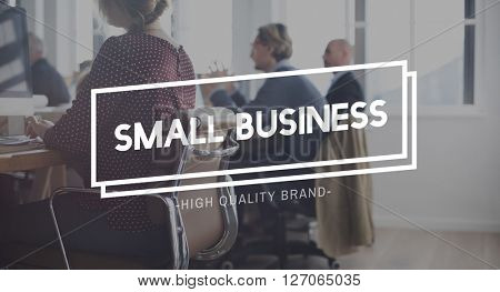 Small Business Niche Products Startup Market Concept