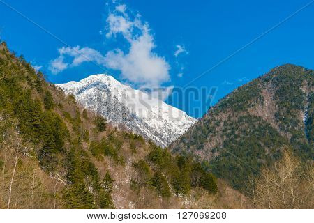 Japan Winter mountain