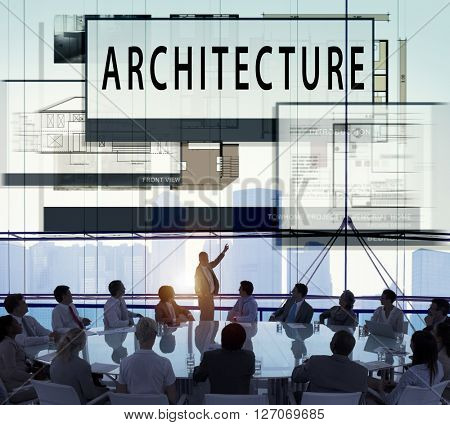 Architecture Layout Blueprint Build Construct Concept