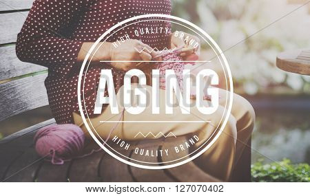 Aging Mature Natural Senior Care Adult Concept