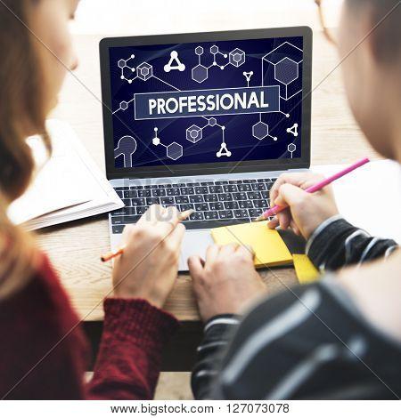 Professional Business Career Executive Boss Concept