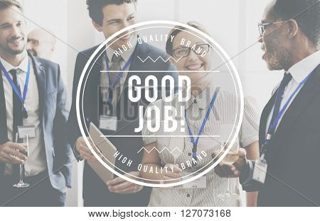Good Job Success Victory Work Expertise Concept