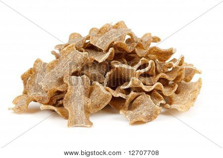 Stack Of Wholemeal Pasta