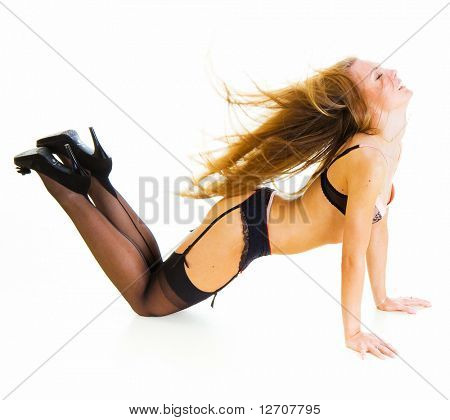 Pinup 'Heels and stockings' Erotica