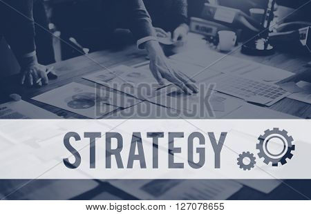 Strategy Statistics Solution Progress Vision Concept