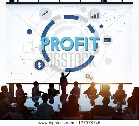 Profit Strategy Growth Business Finance Concept