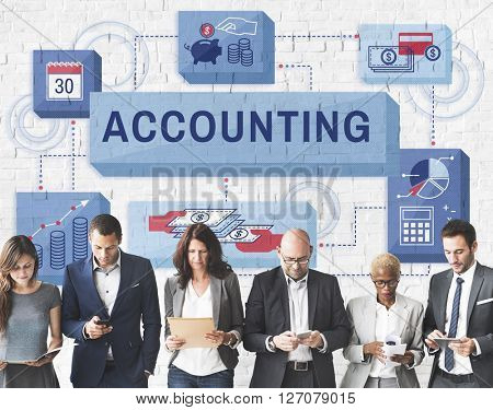 Accounting Banking Finance Income Profit Concept