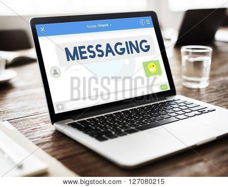 Messaging Chat Communication Connection Online Concept