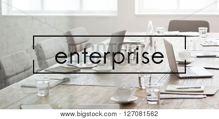 Enterprise Venture Firm Company Concept