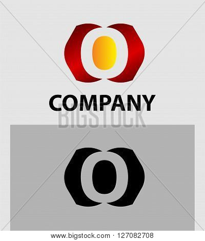 Letter O. Letter O logo icon design template elements