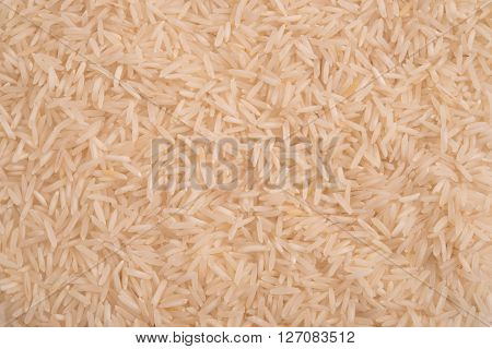 close up of jasmine rice background texture