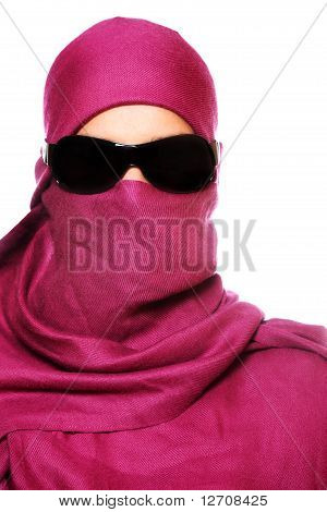 Arabic Woman In Sunglasses
