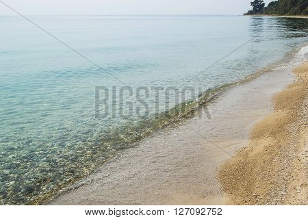 Calm Water Of Lake Tanganyika