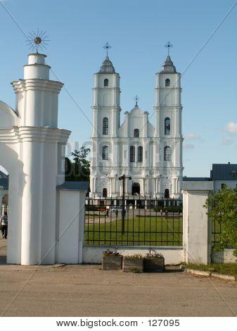Church In Aglona (Latvia)