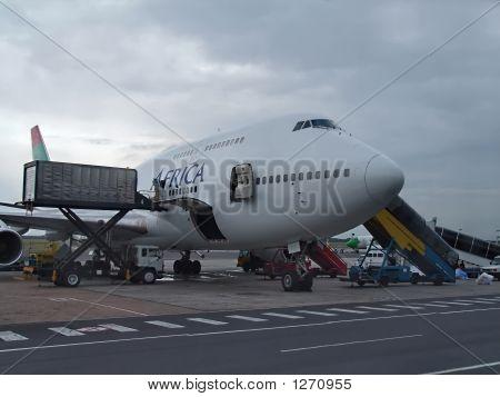 El avión de carga