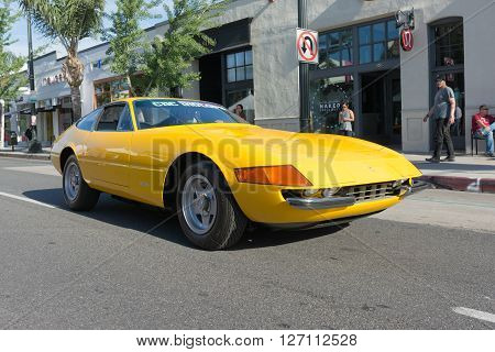 Ferrari Daytona On Display