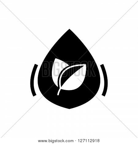 Bold Icon Herbal Medicine Liquid Drug Icon