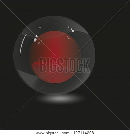 Illustration two spheres
