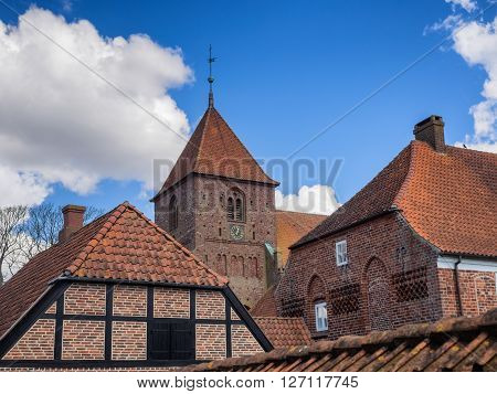 Sankt Katharine Kirke in Ribe in Denmark